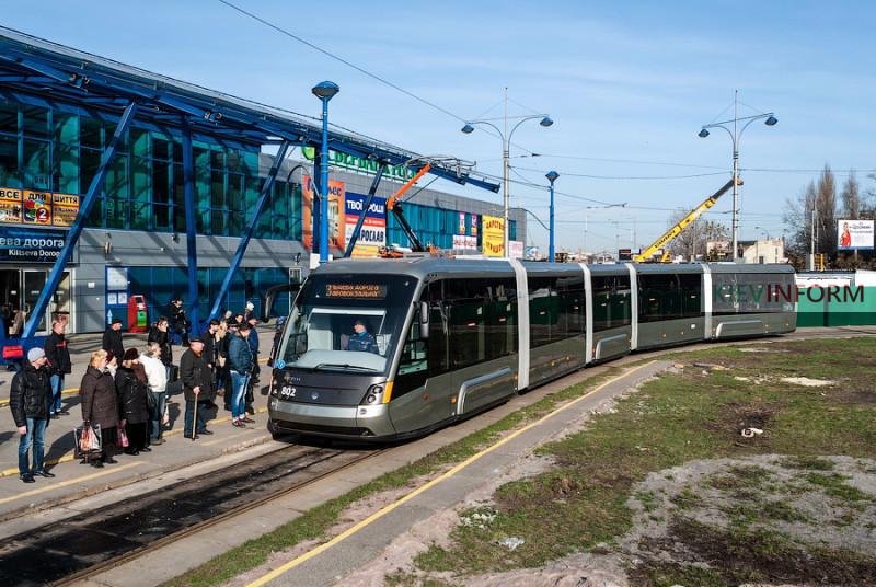 Электрон Линия Скоростного трамвая
