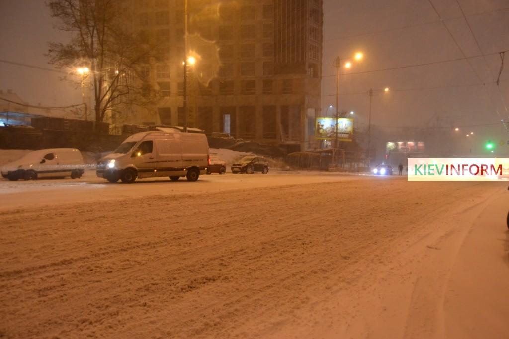 Снегопад-Киев